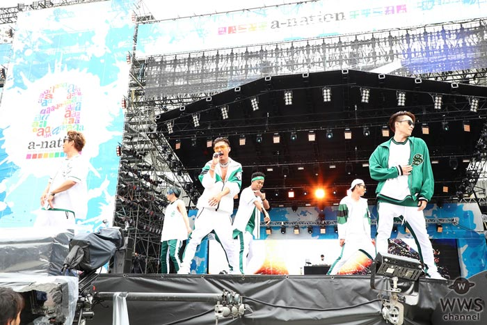 EXILE THE SECONDが国内最大級夏フェス『a-nation 2017』のトップバッターに登場!