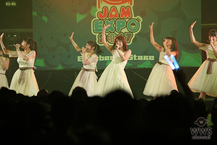 正統派美少女アイドルグループ・さくらシンデレラが横浜アリーナで開催中の国内最大級のアイドルイベント@JAM EXPO 2017に出演!