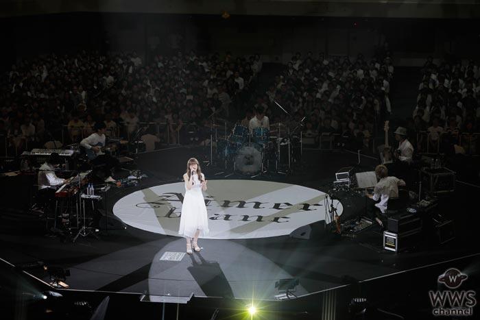 Aimerが日本武道館での初ワンマンライブを開催!新曲『花の唄』『ONE』を初披露!