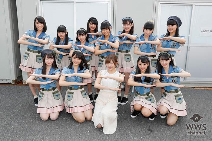指原莉乃が初プロデュースする アイドルグループ「=LOVE」(イコールラブ) TOKYO IDOL FESTIVAL 2017にて 初パフォーマンス披露& SACRA MUSICよりメジャーデビュー発表!