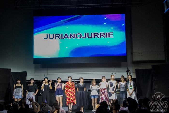 なちょす、永尾まりや、山岸奈津美らがTSCファッションショーをキュートな笑顔いっぱいのステージで魅せる!