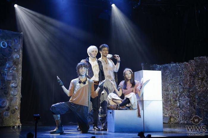 風間由次郎が作・演出、WEAVER 杉本雄治が音楽を担当した『オーバーリング・ギフト』がDVD化決定!舞台裏を追った特典ドキュメンタリーも収録!
