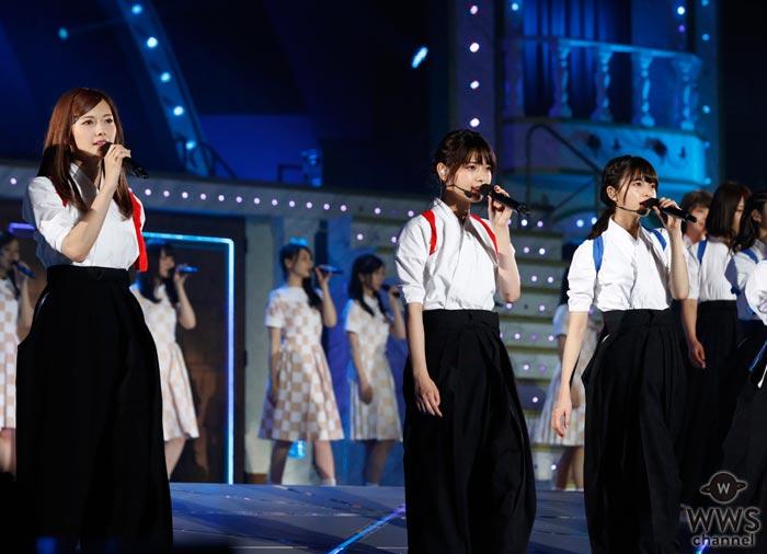 乃木坂46が真夏の全国ツアーで 映画『あさひなぐ』主題歌を初披露! 総勢15名による圧巻の なぎなたパフォーマンスも披露!