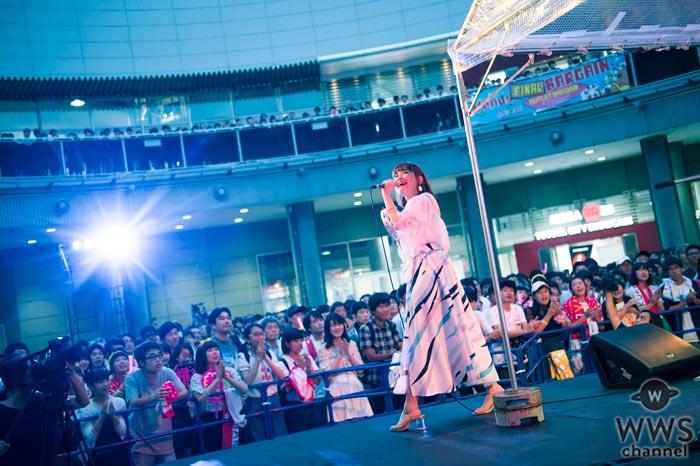 大原櫻子がアコースティック・フリーライブでファンと大合唱!ニューシングルのカップリング曲『Jet Set Music!』を初披露!