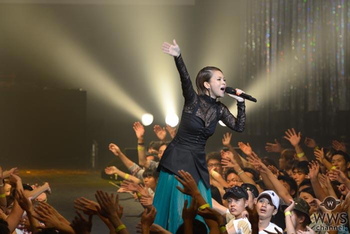 小柳ゆきが『Tokyo Street Collection Vol.5』に登場!圧巻の歌唱力でTSCを魅了!