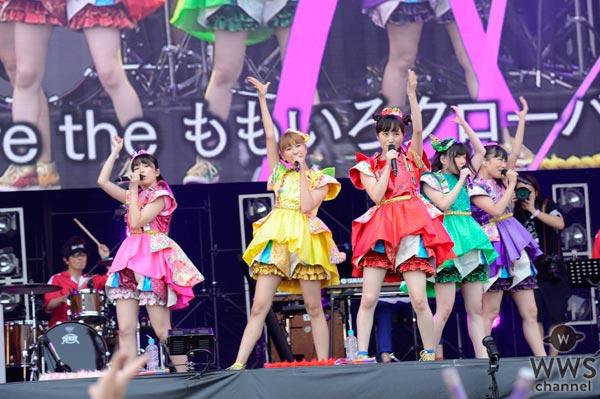 【ライブレポート】ROCK IN JAPAN FESTIVAL 2017でも、踊って踊って踊る!ももいろクローバーZ「マジかっていうセトリになっている」