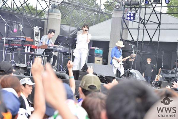 【ライブレポート】家入レオがROCK IN JAPAN FES. 2017に登場!優しい笑顔でヒット曲「サブリナ」を熱唱!「一緒に夏の最高の思い出作るよー!」