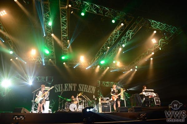 【ライブレポート】SILENT SIREN・すぅ「サマソニ、楽しみたくない?」今年の夏らしいオフショルダーでポップでキュートなステージを展開!