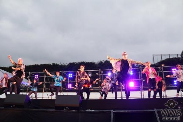 THE RAMPAGE from EXILE TRIBEが神宮外苑花火大会に登場!花火に負けない華やかなステージで神宮の夏を盛り上げる!