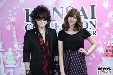 【写真特集】X JAPANのToshlが関西コレクション2015 S/Sに出演!舞台裏で大原櫻子、江野沢愛美、飯豊まりえらと2ショット撮影!