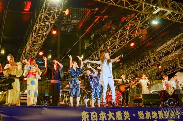 大黒摩季が『神宮外苑花火大会』でmiwaらと共に『ら・ら・ら』の豪華大合唱!大迫力の花火大会がついに開演!