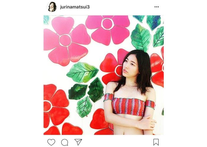SKE48 松井珠理奈が美しくセクシーな水着姿を披露!その姿に「天使。癒し。女神。神様。」と歓喜の声!