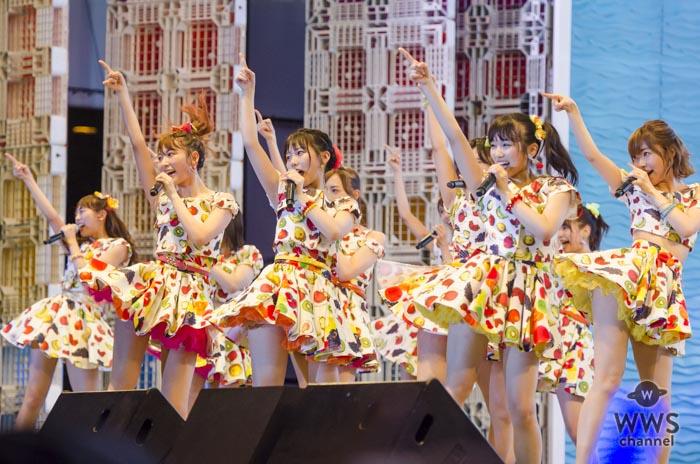 HKT48がTIF2017 2日目 HOT STAGEのトリに登場!夏のキラーチューンで作り上げる最高のライブパフォーマンス!