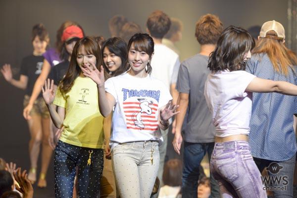 藤江れいな、高城亜樹、永尾まりや、前田希美らがTSCファッションショーをキュート&セクシーに彩る!