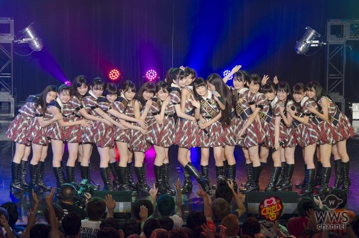 AKB48 16期研究生がTIF2017に登場!初期衝動で突き進む全力ライブを披露!