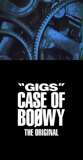 BOOWY デビュー35周年プロジェクト8 /7発売!〜かつてTeenagerだった大人たち、そして大人になるTeenagerたちへ〜 30年越しに届けられた真のロックンロールGIGSのWパッケージ!