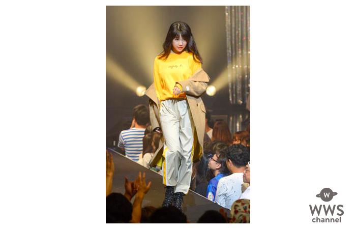 スパガ 田中美麗、阿部夢梨、長尾しおりがモデルとしてTSCファッションショーに華麗に登場!