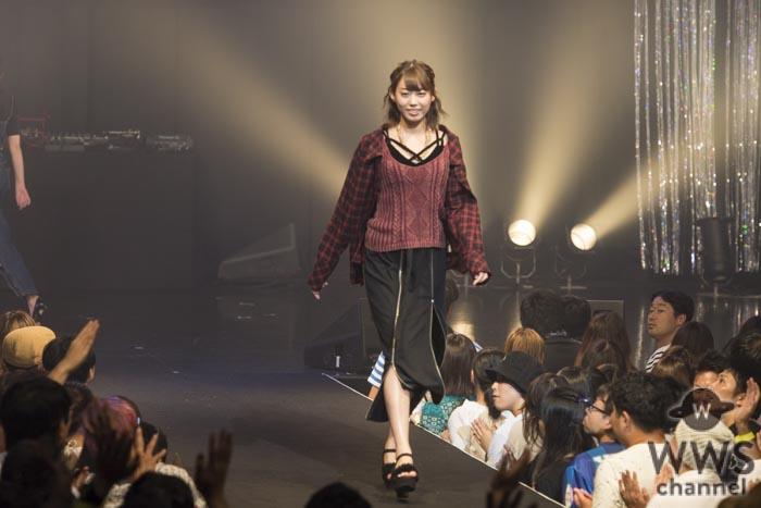 山岸奈津美、長澤茉里奈、石川ナサらがTSCファッションショーを彩る!石川ナサは水着姿で登場!