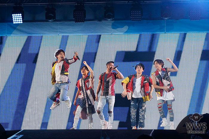 5人組本格派パフォーマンスグループ・Da-iCE が『a-nation 2017』を盛り上げる!