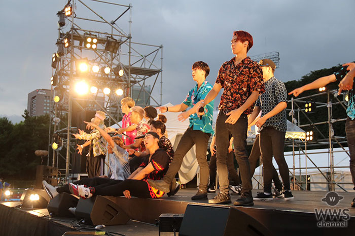 THE RAMPAGE from EXILE TRIBEが神宮外苑花火大会に登場!花火に負けない華やかなステージで神宮の夏を盛り上げる!