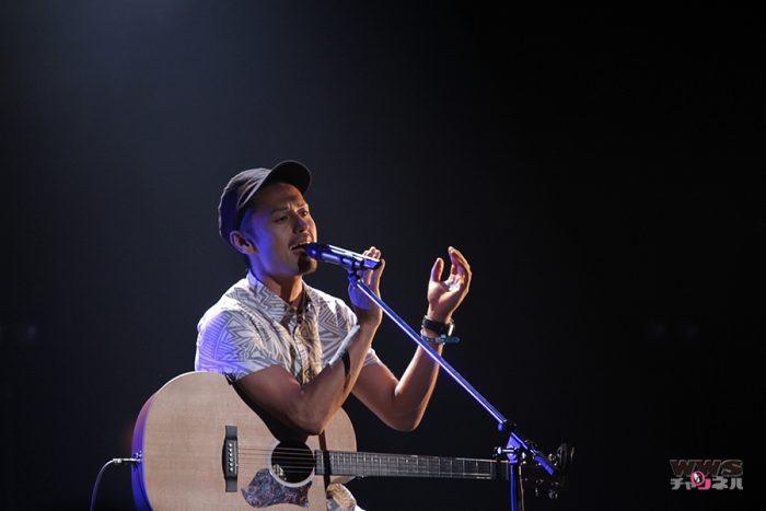 【ライブ写真】元テラスハウスの今井洋介がAH!YEAH!OH!YEAH!2014で『もう一度、手をつなごう』など2曲を披露!