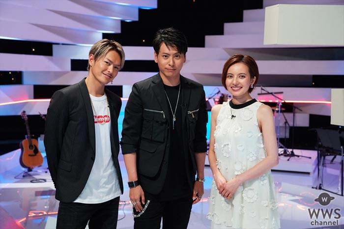 三代目JSB 今市隆二が初の番組MCに挑戦!初回ゲストに山下健二郎を迎え、音楽番組「LOVE or NOT♪」がスタート!