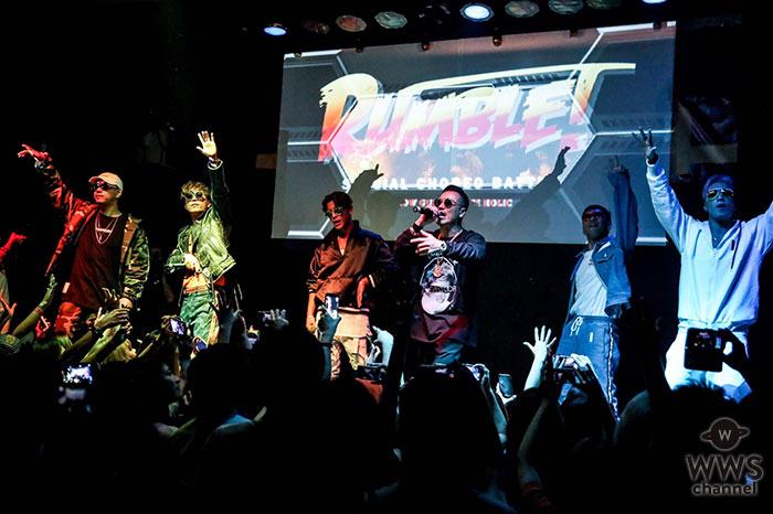 DOBERMAN INFINITY×AK-69奇跡のドリームタッグ実現!「Shatter」発売日に6人でサプライズ歌唱!