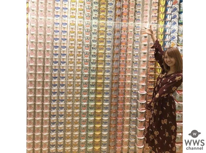 『カップヌードル』の誕生日にスパガ 渡邉ひかるが世界で1つの『マイカップヌードル』の写真を公開!早くも話題に