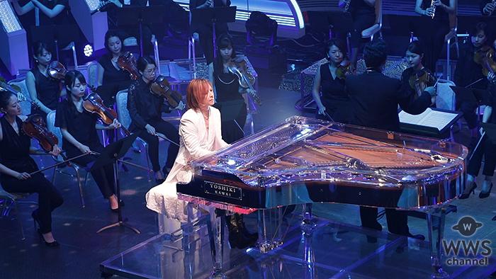 YOSHIKI オーケストラをバックに、 10時間超「ウルトラFES2017」のラストを飾る! 術後初となる音楽番組出演で『復活』への第1歩!