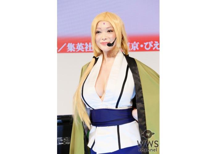 叶美香がセクシーすぎるコスプレ姿で東京ゲームショウに降臨!新作ゲームをプレイ!