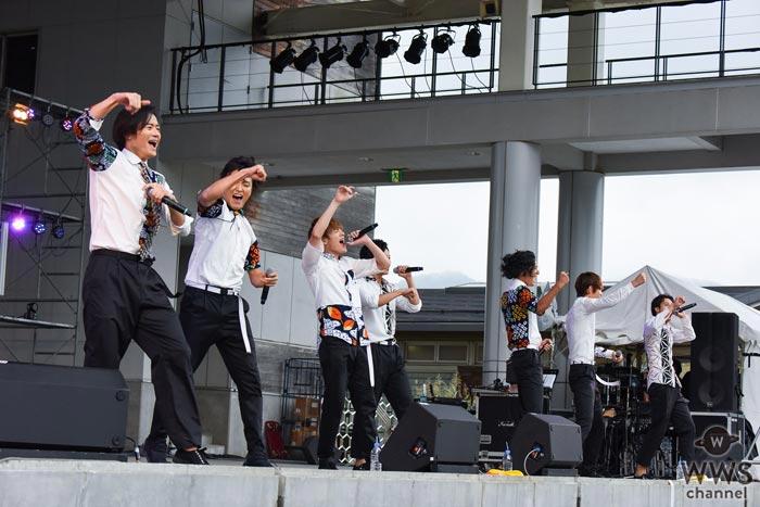 SOLIDEMOが大自然の中で熱いパフォーマンス!共演者のファンキー加藤、BOYS AND MENらとも親睦を深める!