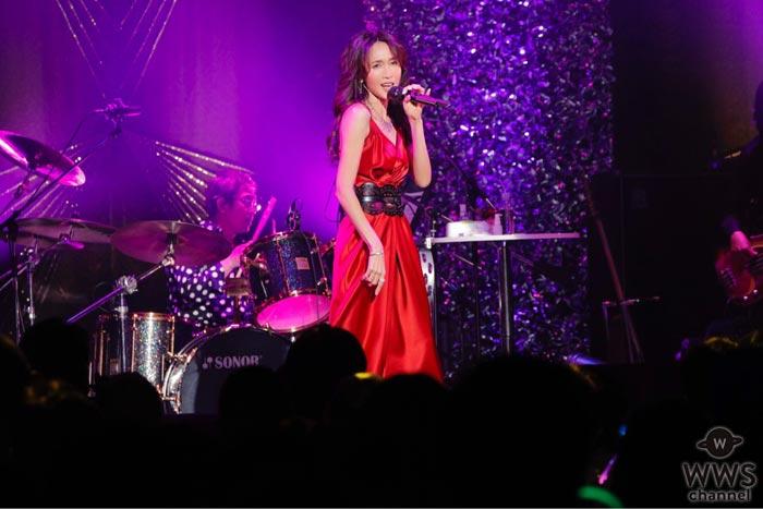 工藤静香がデビュー30周年記念ライブを開催!時代を彩った代表曲から最新アルバムの楽曲まで31曲を熱唱!