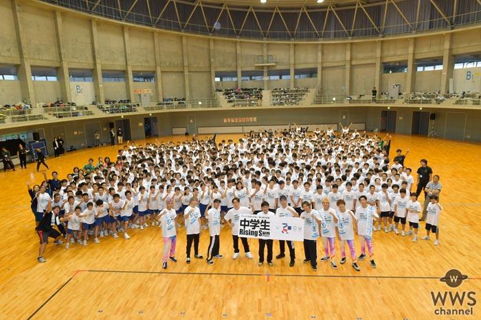 EXILE USA、TETSUYAらが宮城県で被災地の子どもたち600人と心を一つに『Rising Sun』を披露!