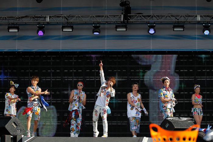 【AAA 浜崎あゆみが登場】9月1日東京公演 a-nation stadium fes.2013 powered by ウイダーinゼリー@味の素スタジアム