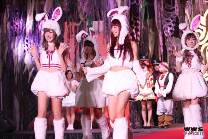 Silent Sirenが赤坂ハロウィンに白ウサギで登場!PASSPO☆、palet、prediaらも華を添える!