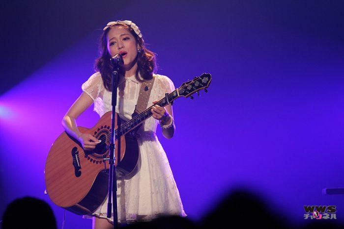 【ライブ写真】chay(チャイ)がAH!YEAH!OH!YEAH!2014でパンテーンCMソング『Twinkle Days』を熱唱!