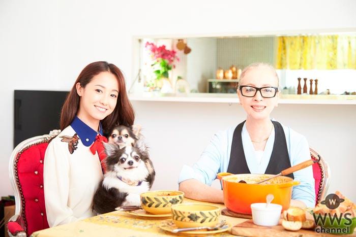 沢尻エリカの母、沢尻リラが沢尻家の定番料理から絶品クスクスレシピなど52品を初公開!