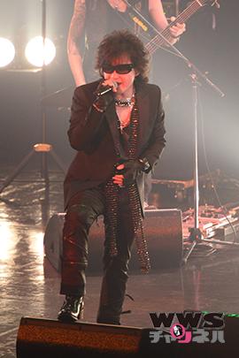 【ライブレポート】X JAPANボーカルToshlがお台場ソロライブで運命共同体のファンにロックを届ける! CRYSTAL ROCK NIGHT