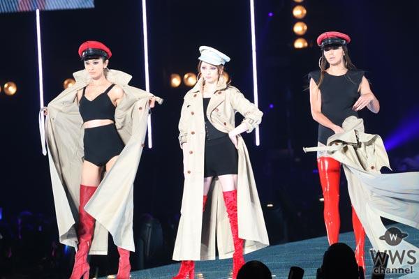 山田優・土屋アンナ・香里奈の豪華3ショットが大胆露出のセクシー衣装でTGC 2017 A/Wの幕開けを飾る!