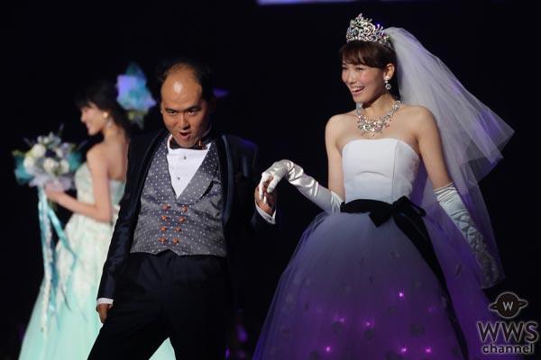飯豊まりえが3億円のゴージャスなティアラを身につけ東京ガールズコレクション 2017 A/Wに登場!