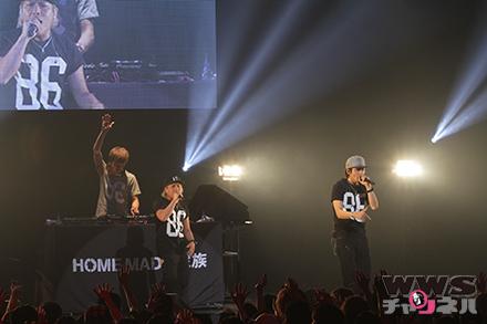 【ライブ写真】HOME MADE 家族がAH!YEAH!OH!YEAH!2014で『キミガイタカラ』など全3曲を披露!
