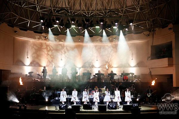 エビ中、初となる全編生バンド演奏での野外ワンマンコンサート開催!全24曲を披露!