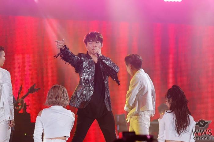 D-LITE(from BIGBANG)が割れんばかりの歓声の中、a-nation 2017に登場!