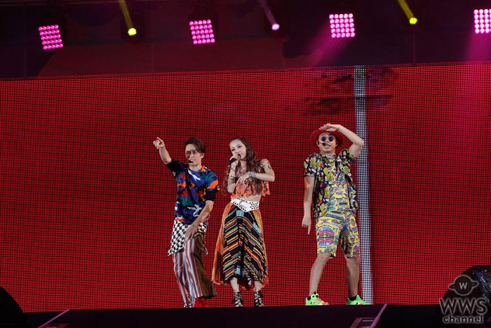 DANCE EARTH PARTYが『a-nation 2017』に登場!新曲『POPCORN』『NEO ZIPANG~UTAGE~』など披露!