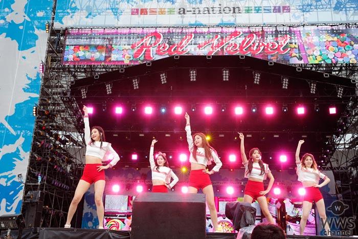 Red Velvetが『a-nation 2017』でピッタリ揃ったダンスと華やかなサウンドで魅せる!