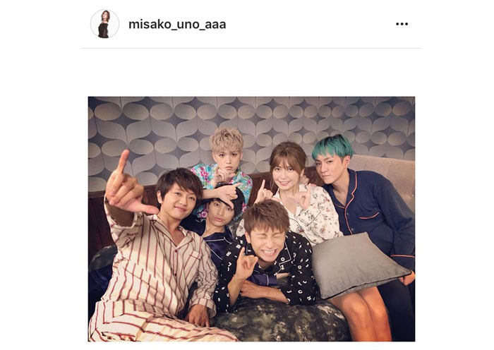 AAAが可愛いすぎるパジャマ姿で集合写真を公開!「みんなパジャマでLポーズ」月9ドラマで起用される新曲『LIFE』MV公開!