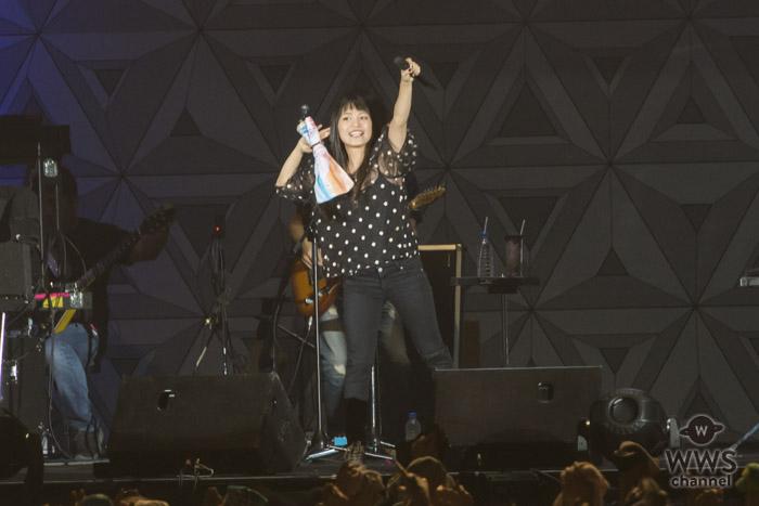RockCorpsでmiwaが『chAngE』を披露し力強くロックな一面をアピール! androp・内澤とのセッションに「アイをオクリ合いたい」