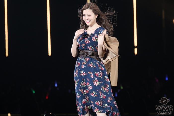 乃木坂46 白石麻衣が美しすぎる姿で魅了!東京ガールズコレクション 2017 A/Wに登場!