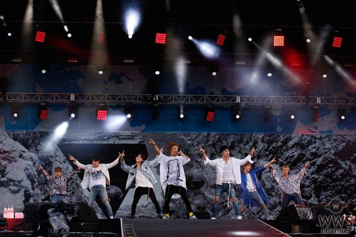 iKONがa-nation 2017に登場!興奮冷めやらぬ熱狂的な声援が響き渡る!