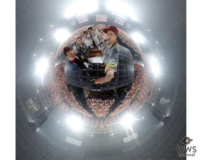 AAA初の4大ドームツアー・セミファイナル公演となる福岡でメンバーの西島隆弘31歳の誕生日を迎える。